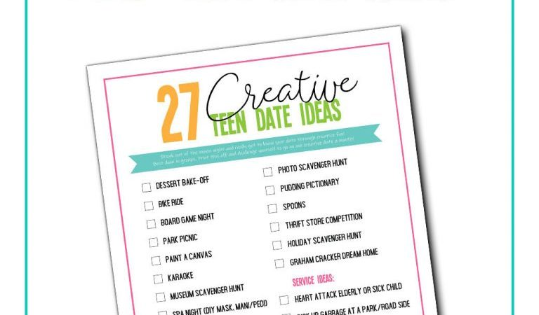 Creative Date Ideas for Teens