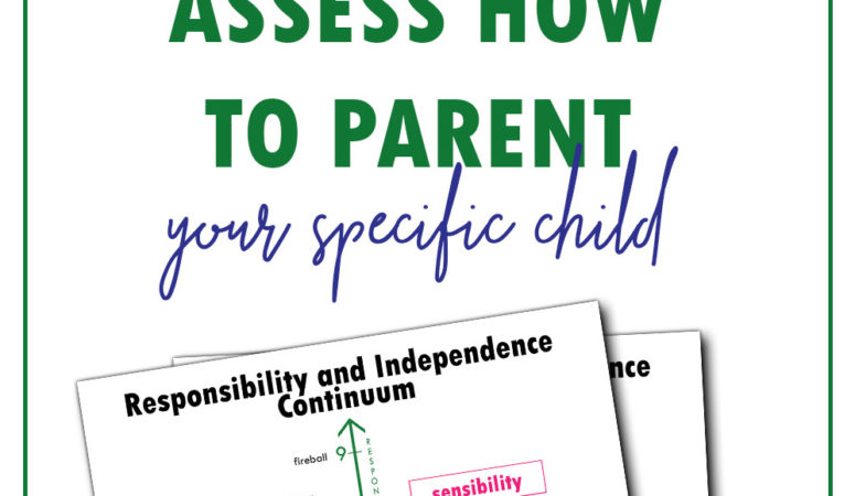 Parenting with the Independence and Responsibility Continuum