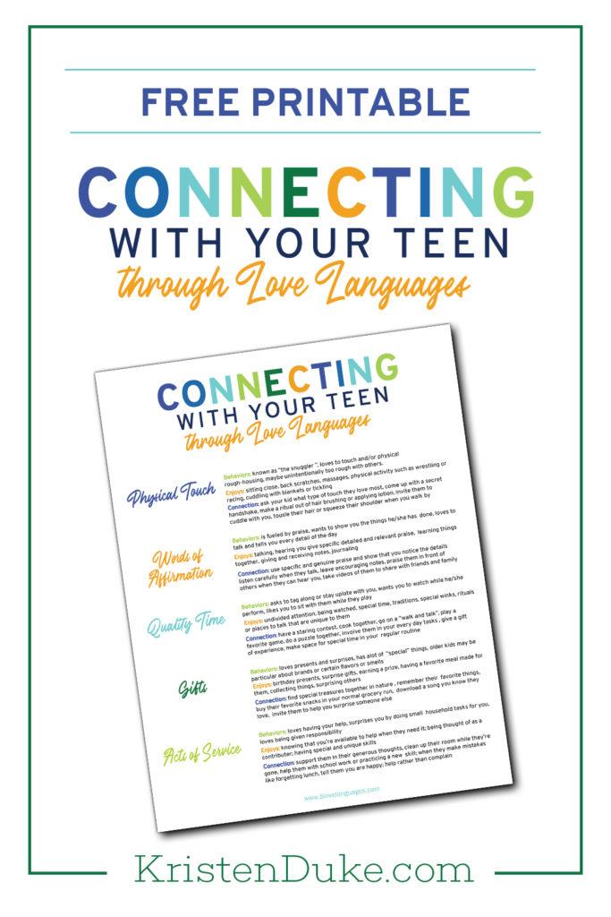 Love Language for Teens