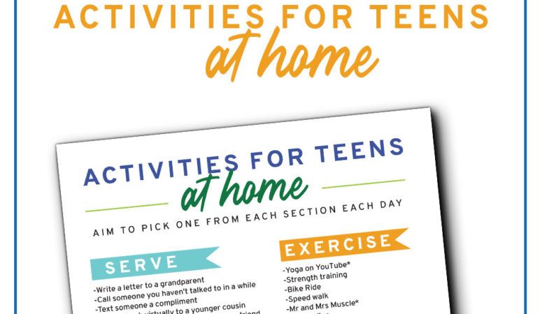 Activities for Teens