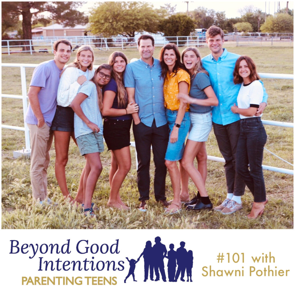 Shawni Pothier Beyond Good Intentions Parenting Podcast