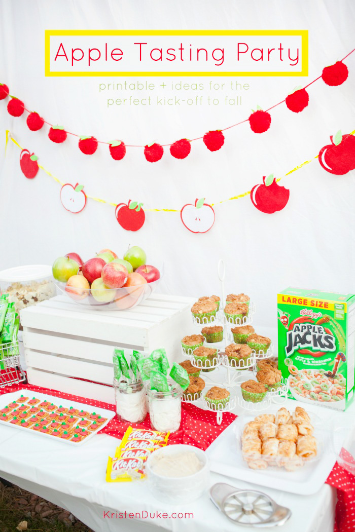 Apple Tasting Party Ideas