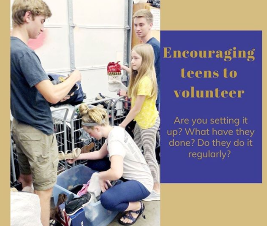 Encouraging Teens to Volunteer