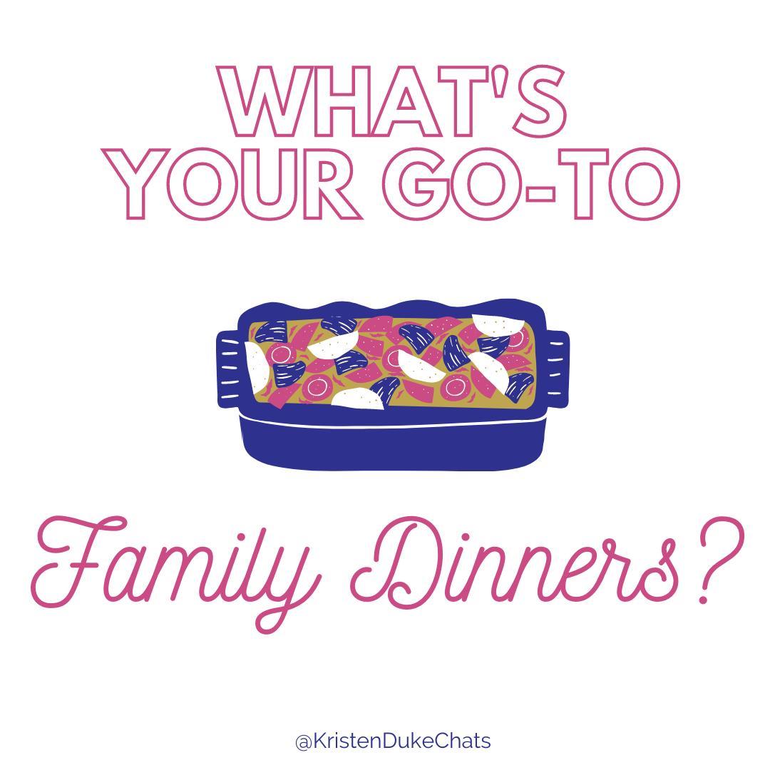 Family Dinner Ideas